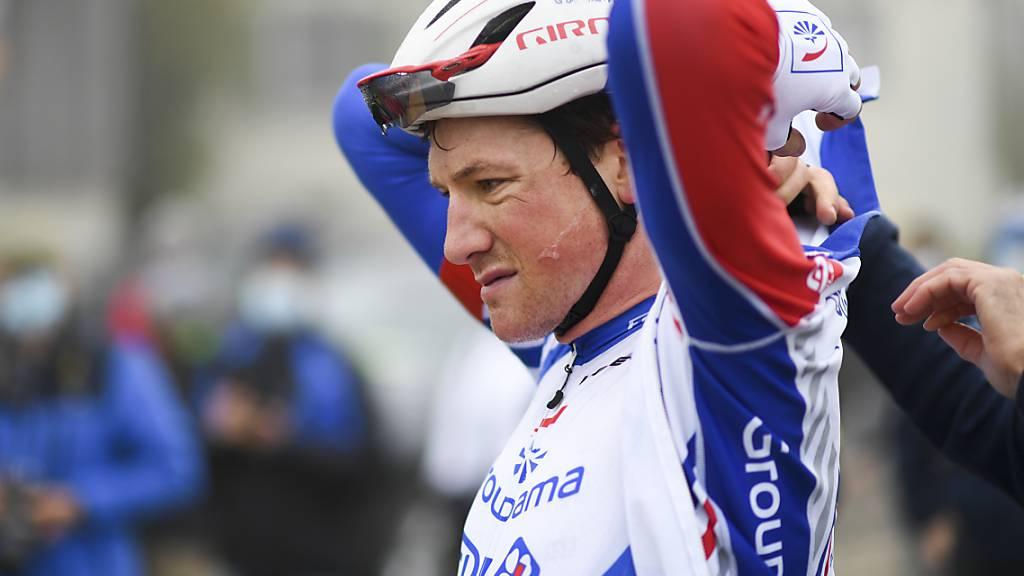 Den ersten Sieg nur um sechs Sekunden verpasst: Radprofi Stefan Küng