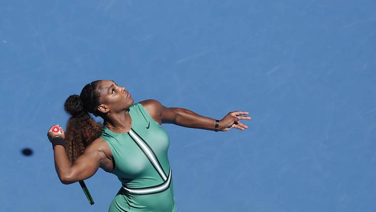 Dominierte in all ihren bisherigen Matches in Melbourne: Serena Williams