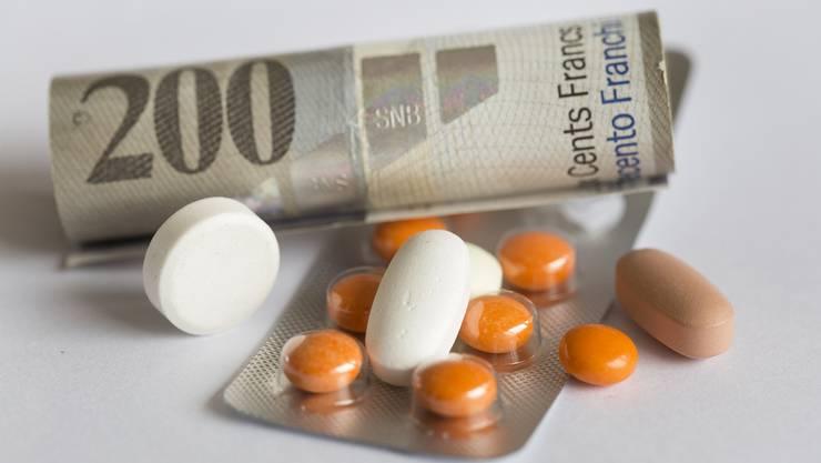Für 90 anstatt 20 Franken verkaufte der Arzt dem süchtigen Patienten das Beruhigungsmittel.