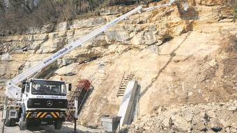 Steinbruch-Sanierung in Auenstein wird aufwändig und teuer