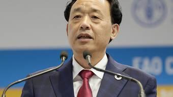 Der Chinese Qu Dongyu ist neuer Generalsekretär der Uno-Ernährungs- und Landwirtschaftsorganisation FAO.