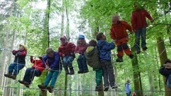 Für Wettinger Kindergärtler bleibt der Waldkindergarten ein Traum. Möglich wäre eine Light-Version. (Symbolbild)Archiv AZ
