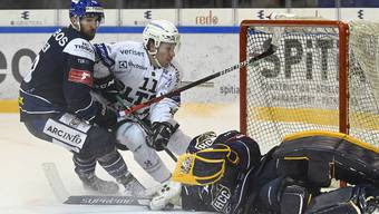 Eishockey, Swiss League: HC La Chaux-de-Fonds - EHC Olten (12.1.21)