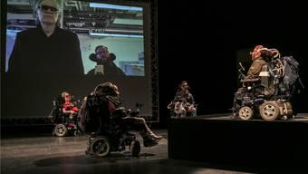 Beklemmend und zugleich befreiend: Die Produktion «beat-me-mich», die 2017 am wildwuchs Festival zu sehen war. Nik Spoerri