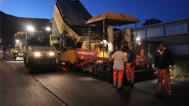 Wann die Baumaschinen auffahren und wie gross der Gemeindeanteil bei der Finanzierung eines Innerorts-Strassenprojekts ist, entscheidet der Kanton. Oliver Menge