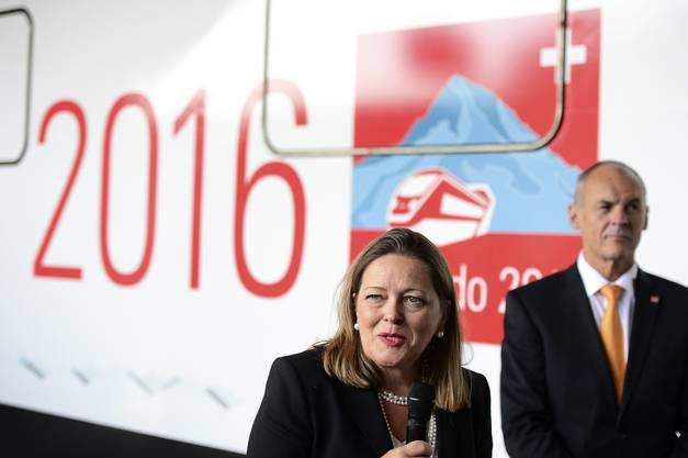 Auch an der Eröffnungsfeier des Gotthard-Basistunnels 2016 nimmt Z'graggen teil.