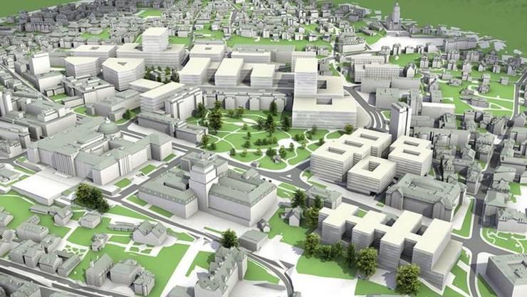 Neue Projekte verändern das Hochschulquartier im Zentrum von Zürich.