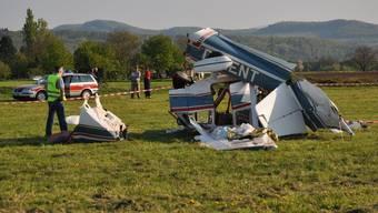 Opfer des Flugzeugabsturzes in Rheinfelden sind Aargauer