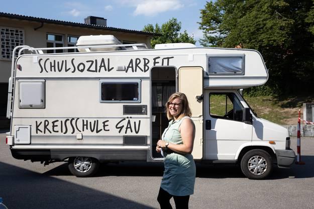 Der Bus ist ein mobiles Büro.