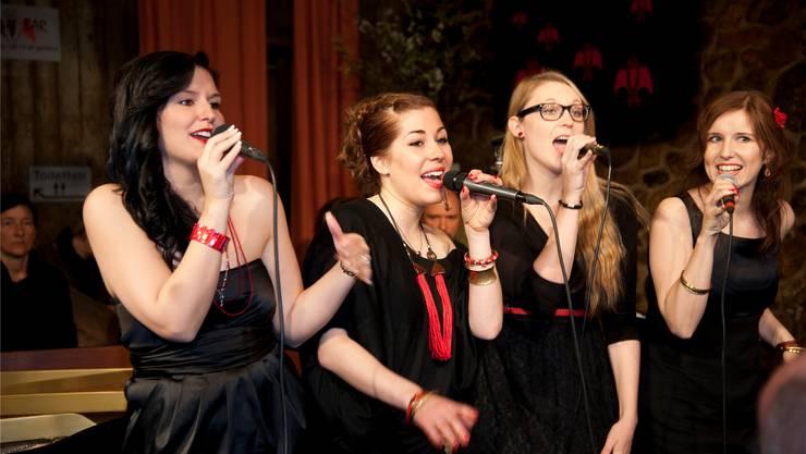 Die vier Ladys zogen das Publikum in ihren Bann und zeigten auch ihren Spass an der Musik.