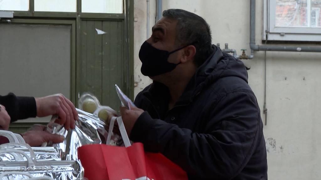 «Tischlein deck dich»: Verteilaktion entlastet Haushalte an Weihnachten