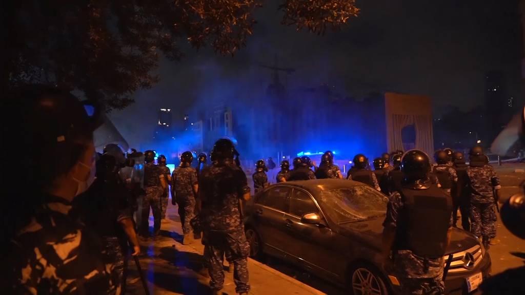 Beirut: Proteste nach Explosion