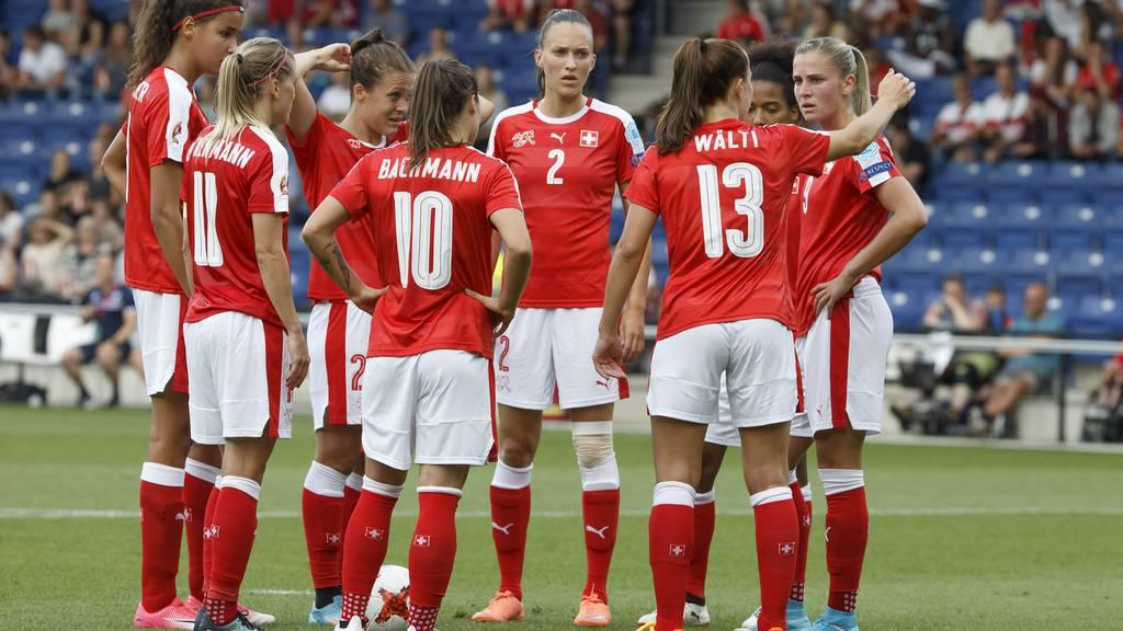 Schweizer Frauen-Nati ausgeschieden