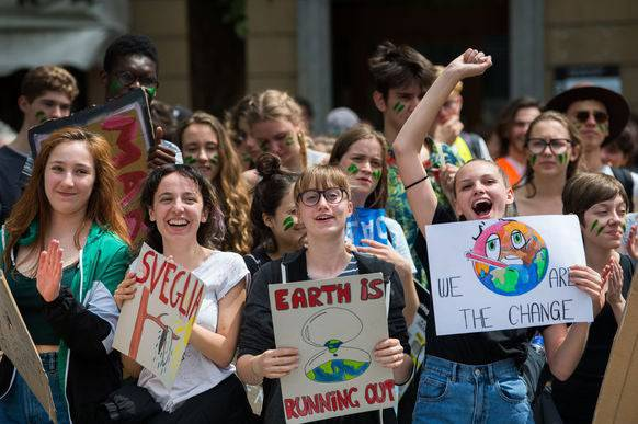 Die Klimastreik-Bewegung will weitere Ausgaben der Klimazeitung publizieren.