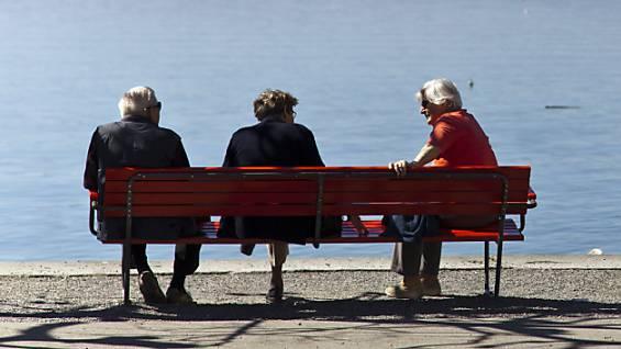 Platz1: Tessiner haben eine Lebenserwartung von 85 Jahren.