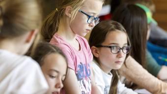 Eher eine Ausnahme: Eine Schulklasse aus Avenches besuchte 2016 eine Klasse in Lohn-Ammansegg.