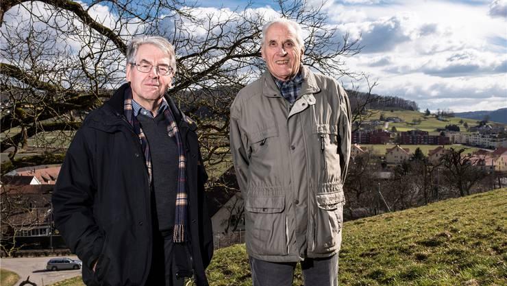 Paul Isler und Moritz Caviezel gehören dem Konsortium Buechrai an.