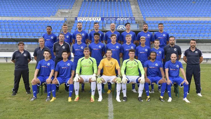Die 1. Mannschaft von Grenchen 15 ging im Sechs-Tore-Spiel gegen Härkingen als Sieger vom Platz. (Archiv)