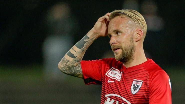 Markus Neumayr fällt beim FC Aarau aus.