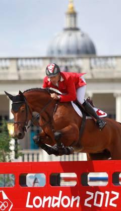 Vom Spitzenpferd Carlina musste sich Pius Schwizer nach den Olympischen Spielen trennen.
