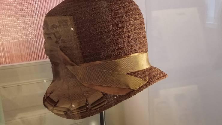 Ein historischer Hanf-Hut aus dem Strohmuseum Wohlen.