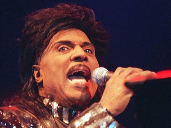 9. Mai: Little Richard, der Pionier des Rock'n Roll, ist tot. Hier bei seinem letzten Auftritt in der Schweiz im Hallenstadion Zürich am 28. Juli 1998.