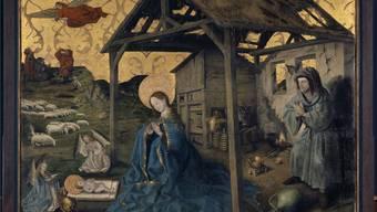 Konrad Witz (um 1400 - um 1445/1447) und Werkstatt: Die Geburt Christi, Kunstmuseum Basel, Inv. 1590, Depositum der Gottfried-Keller-Stiftung.