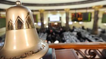 Wegen Unruhen geschlossen: Ägyptens Börse (Archiv)