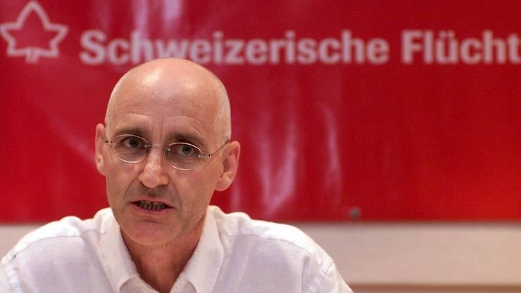 Beat Meiner, Generalsekretär der Schweizerischen Flüchtlingshilfe