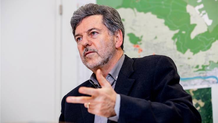 Dieter Martin: «Es ist jetzt für alle der Zeitpunkt gekommen, Solidarität zu zeigen mit unserer Gemeinde.»Sandra Ardizzone