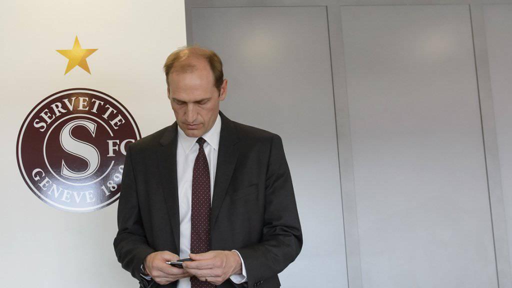 Abschied aus Lausanne: Hugh Quennec hat seinen Anteil an der HC Lausanne AG verkauft