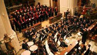 Die Jesuitenkirche während eines Konzerts zvg