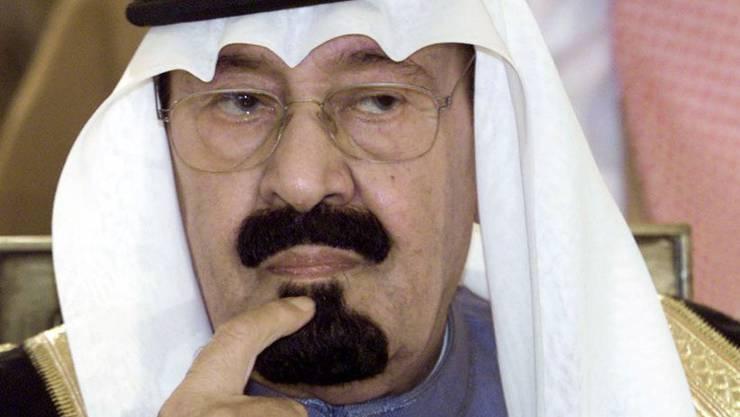 Abdullah bin Abdul Aziz al Saud, König von Saudi Arabien, ist mit 90 oder 91 Jahren gestorben - sein genaues Alter ist unbekannt. (Archiv)