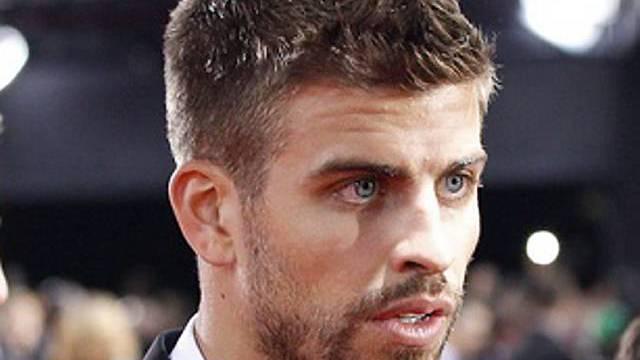 Fussballer Gerard Piqué - der neue Schwarm von Shakira?
