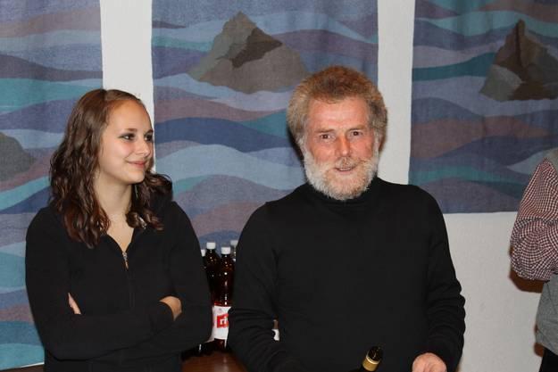 Ehrendame Flavia und Louis Huber