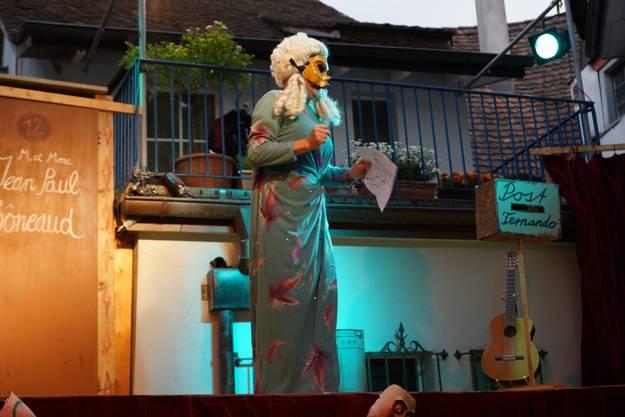 Das Maskentheater Paella Komplott ist eine Hommage an die italienische Commedia dell'arte (ub)2