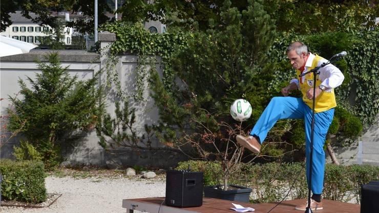 Zunftmeister Beat Kissling: «Wo sind wohl die Fussballer-Gene geblieben?»