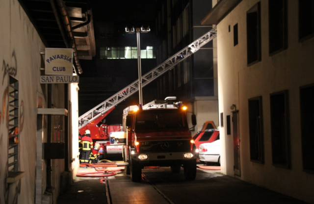 An der Industriestrasse in Aarau brannte es in einer Wohnung