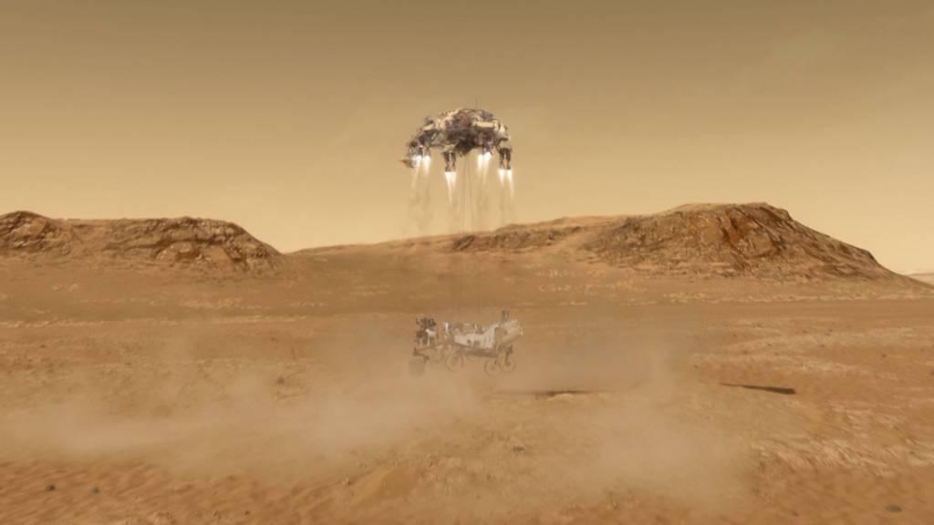 Schweizer Technologie erfolgreich auf dem Mars gelandet