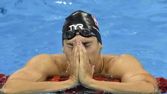 Alexandre Haldemann enttäuschte über 200 m Crawl