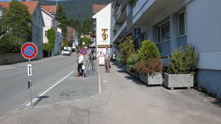 Der Tatort des Schenkkreis-Mords an der Kirchstrasse (Foto: Urs Byland)