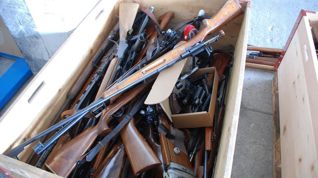 Alte Waffen sollen weiterhin nicht registriert werden