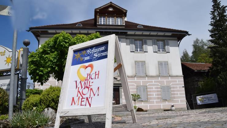 Das Restaurant zum Sternen in Eggenwil ist seit zwei Tagen geschlossen. Ob und wann es wieder geöffnet wird, ist zurzeit ungewiss.
