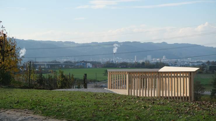 Auch Richtung Dietikon bietet der Chriesihoger eine spannende Aussicht.