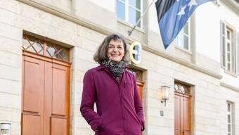 Die politische Karriere von Edith Saner in Bildern