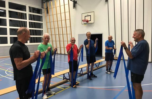 Fitness förderndes Mittwochsturnen der Männerriege