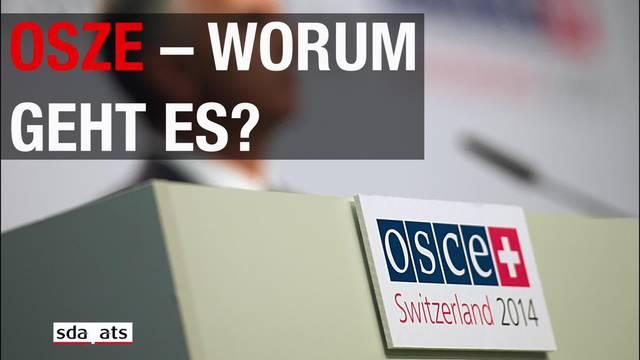 Was ist die OSZE und was tut sie?