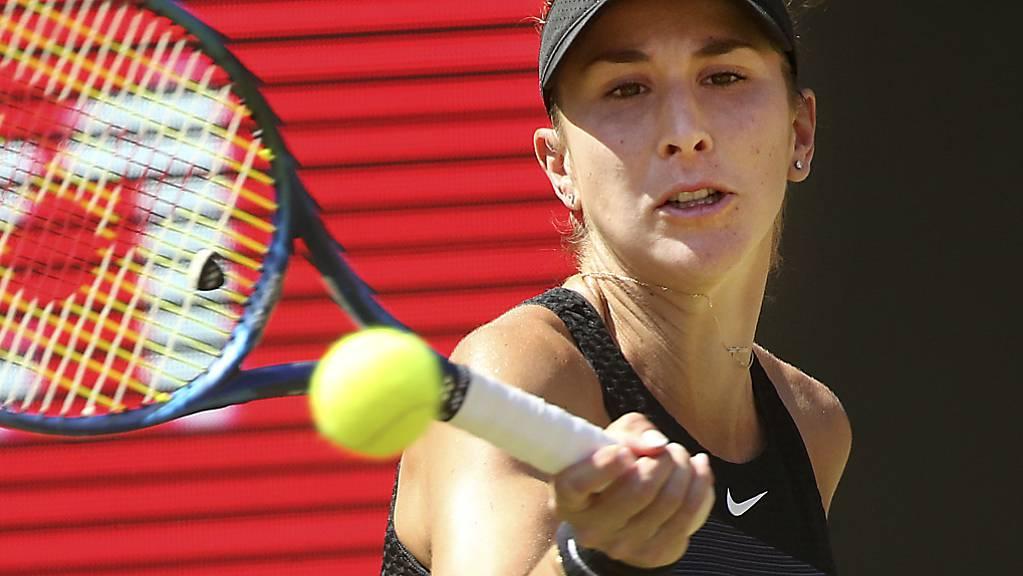 Bis ihr Dreisatzsieg gegen die Russin Jekaterina Alexandrowa feststand, musste Belinda Bencic in Berlin rund zweieinhalb Stunden hart kämpfen