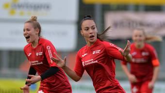 Bildstrecke: FC Schlieren - FC Aarau Frauen (18.5.19)