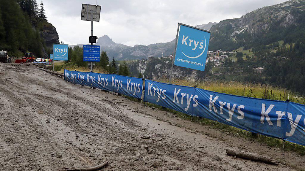 Samstag-Etappe der Tour de France verkürzt